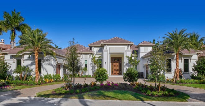 Stock Custom Homes has sold a more than 6,000-square-foot under-air residence, the Stockton, in The Estuary at Grey Oaks.