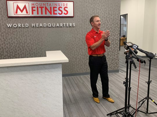 Mountainside Fitness CEO and founder Tom Hatten discusses his company's lawsuit to remain open in defiance of a governor's order on Tuesday, June 30.