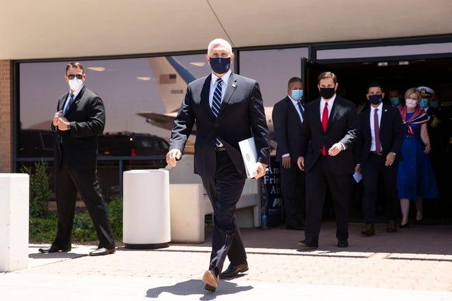 Secret Service agents preparing for Pence, Trump Arizona events test  positive for COVID-19