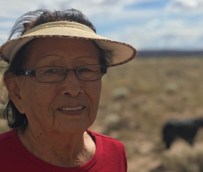 Helen Nez, who worked as a nurse for much of her life, was a Navajo rancher who raised cattle and sheep.
