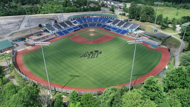 Drone images of the Dutchess Stadium in Fishkill on Wednesday, July 1, 2020.