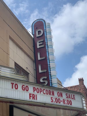 The Dells Theater is hoping to reopen in July and will run popular movies before new releases come out in August.