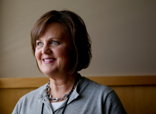 Jane Stavem poses for a portrait during her first week as Sioux Falls School District's superintendent on Wednesday, July 1, 2020 at the Instructional Planning Center in Sioux Falls, S.D.