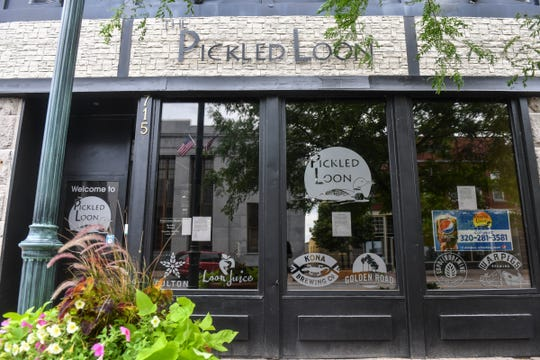 The Pickled Loon is pictured Wednesday, July 1, 2020, in downtown St. Cloud.