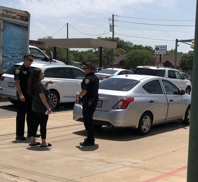 Wichita Falls police are investigating a hit-and-run accident that left one injured Wednesday afternoon.