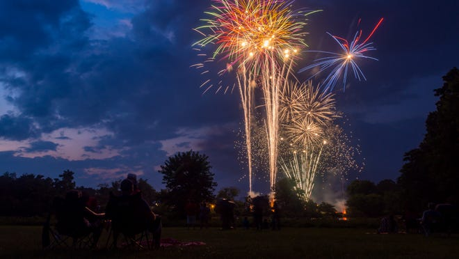 There are still ways to watch fireworks this year.