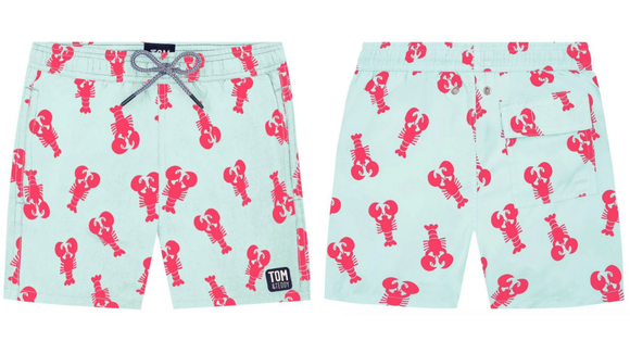 Tom and Teddy makes great swimwear for kids.