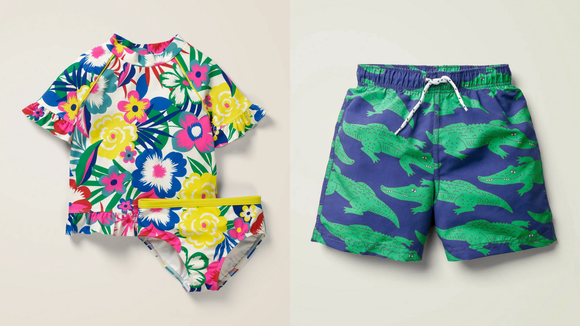 Boden makes fashionable kids clothing.