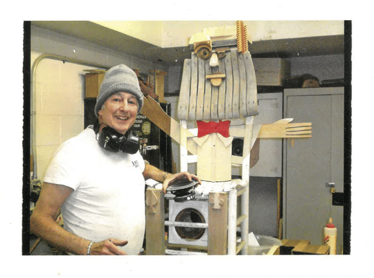 Fred Feldman is a professional artist who has lived in Black Mountain for the past 13 years.