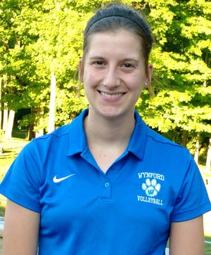 Clara Adelsperger takes over the Wynford volleyball program after serving as an assistant last year.