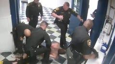 Screenshot of jail incident