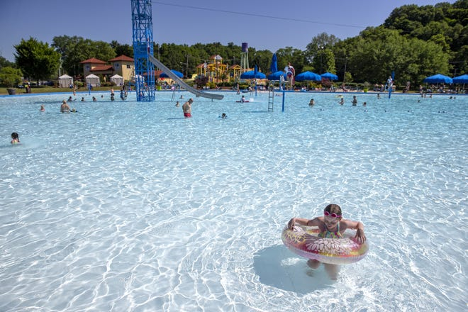 Coney Island officials said the park will open a Challenge Zone, featuring the largest Aquaglide pool obstacle course in the United States this spring.