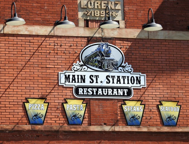 The Main St. Station Restaurant at 443 Main St. is celebrating its one year anniversary with owners sponsored a block party Sept. 11.