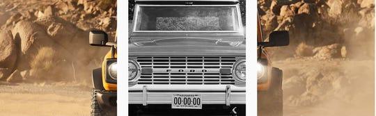 Ford Bronco teases on Instagram