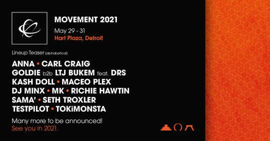A teaser for Movement 2021, released Thursday, July 2.