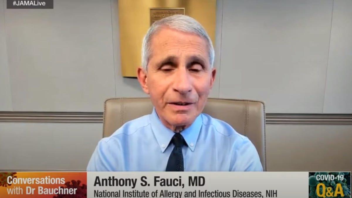 Fauci Says New Mutation May Speed the Spread of Coronavirus