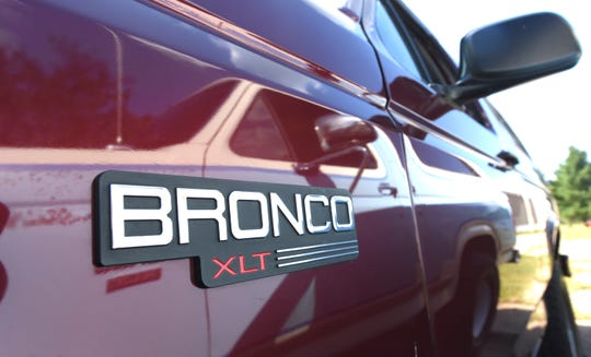 The 1996 Full-Size Bronco logo owned by John Parks.