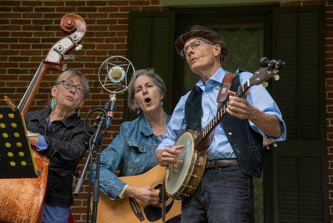 The Cottonwood Jam String Band will perform the first Verandah Concert of the season on Wednesday, July 8, 2020, at the Hayes Presidential Library & Museums.