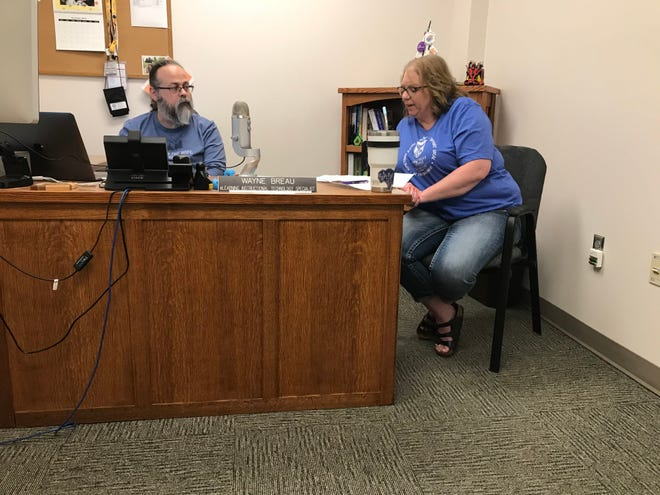 """Great Falls College MSU's Wayne Breau and Becky Sullivan, along with Mandy Wright, started the """"Two-Year Teaching and Tech"""" podcast as a way to provide educators with some tips and tricks in an easy-to-use format. The second episode drops on July 2."""