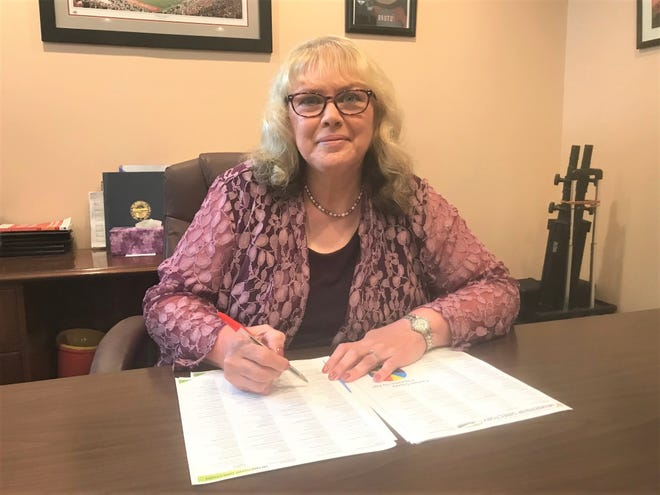 Former Lancaster Eagle-Gazette employee Cheryl Barber is now the member services director for the Lancaster-Fairfield County Chamber of Commerce.