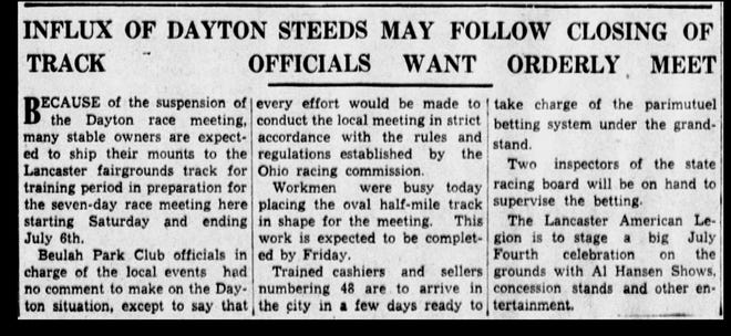 an article from the June 25, 1935 paper.