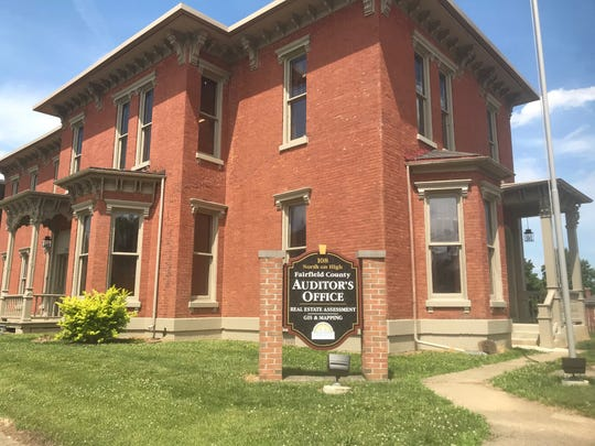 The Fairfield County Auditor's real estate division is now housed at 108 N. High St. in the former Beery House building.