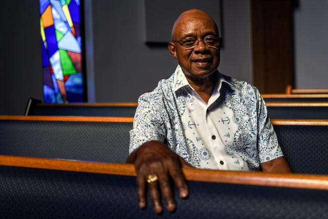 Reverend Melvin Jones, photographed on Wednesday, July 1, 2020, at Union Missionary Baptist Church in Lansing.
