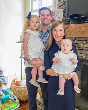 The Flerlage family loves their East Memphis home