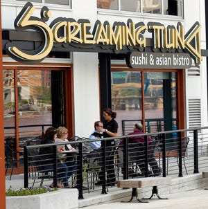 Sushi restaurant Screaming Tuna, 106 W. Seeboth St. in Walker's Point is the latest restaurant to voluntarily close temporarily after a worker tested positive for COVID-19.