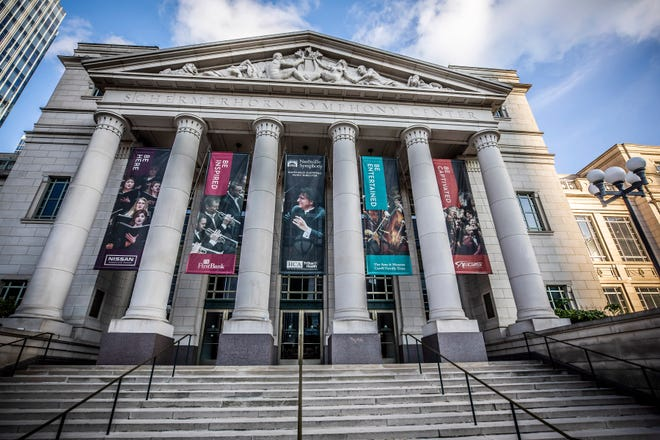 The Schermerhorn Symphony Center in downtown Nashville is the home of the Nashville Symphony. In June, the symphony announced all shows were canceled through July 2021 as the COVID-19 pandemic spread worldwide.