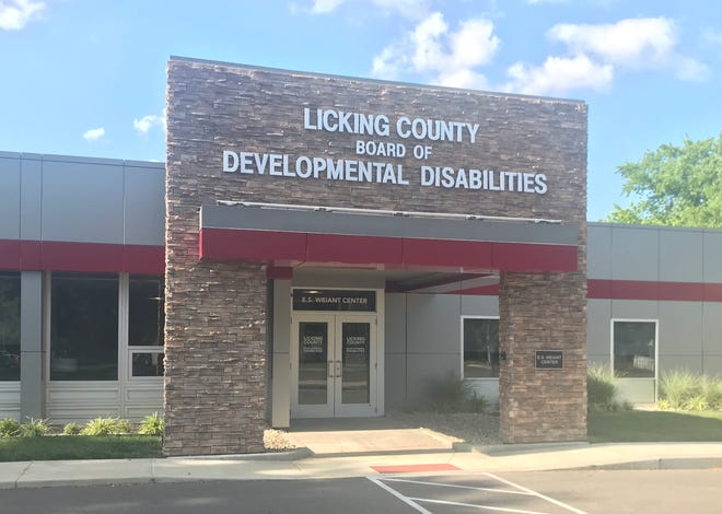 The Licking County Board of Developmental Disabilities building in Newark.