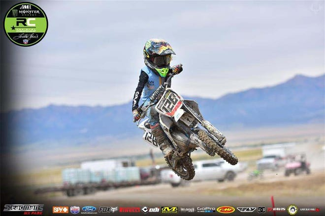 Ryder McCutcheon, 9, of Alamogordo, recently qualified to compete in the 2020 Monster Energy AMA Amateur National Motocross Championship at Loretta Lynn Ranch to be held Aug. 3-8 in Hurricane Mills, TN.