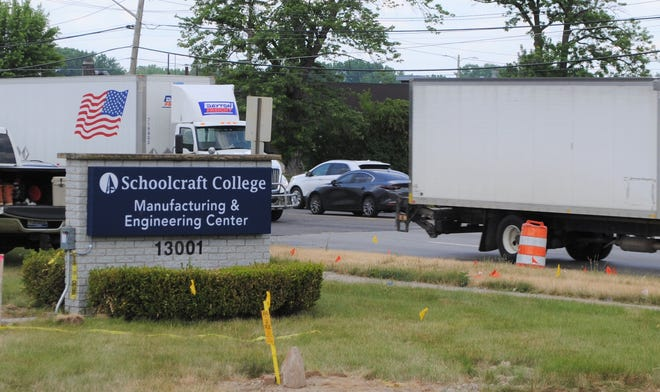 Schoolcraft's new manufacturing facility is near the Merriman and Schoolcraft intersection.