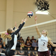 Water Valley's Avery Brown (15) and Bronte's Kimber Lee (2) battle for the ball during a volleyball match Sept. 27, 2011.