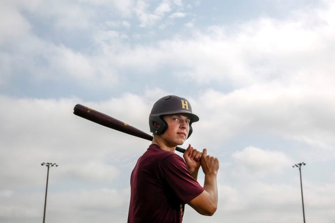 Harrisburg Legion pitcher Chase Mason poses for a portrait on Tuesday, June 30, 2020 in Harrisburg, S.D.