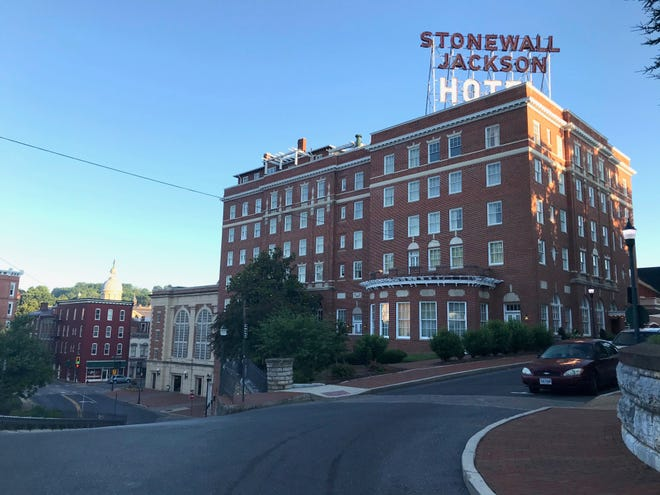 The Stonewall Jackson Hotel & Conference Center on Thursday, July 2, 2020.