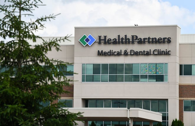 The HealthPartners Central Minnesota Clinic is pictured Thursday, July 2, 2020, in Sartell.