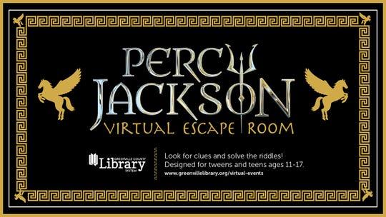 Percy Jackson Virtual Escape Room