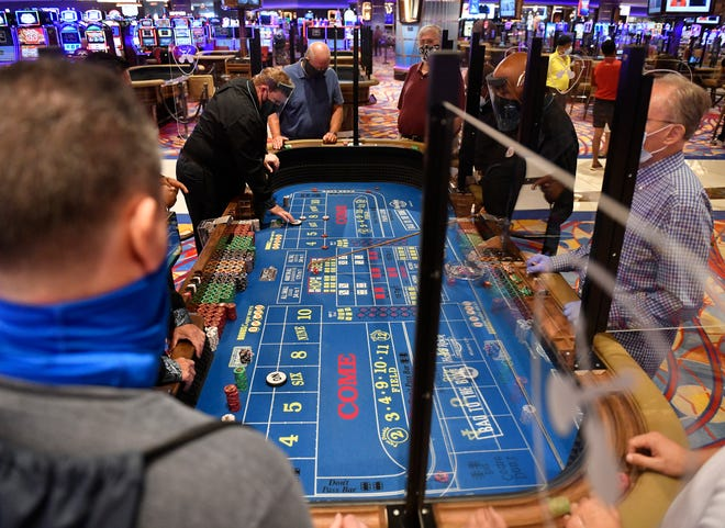 Atlantic City casinos open with COVID-19 safety guidelines in place