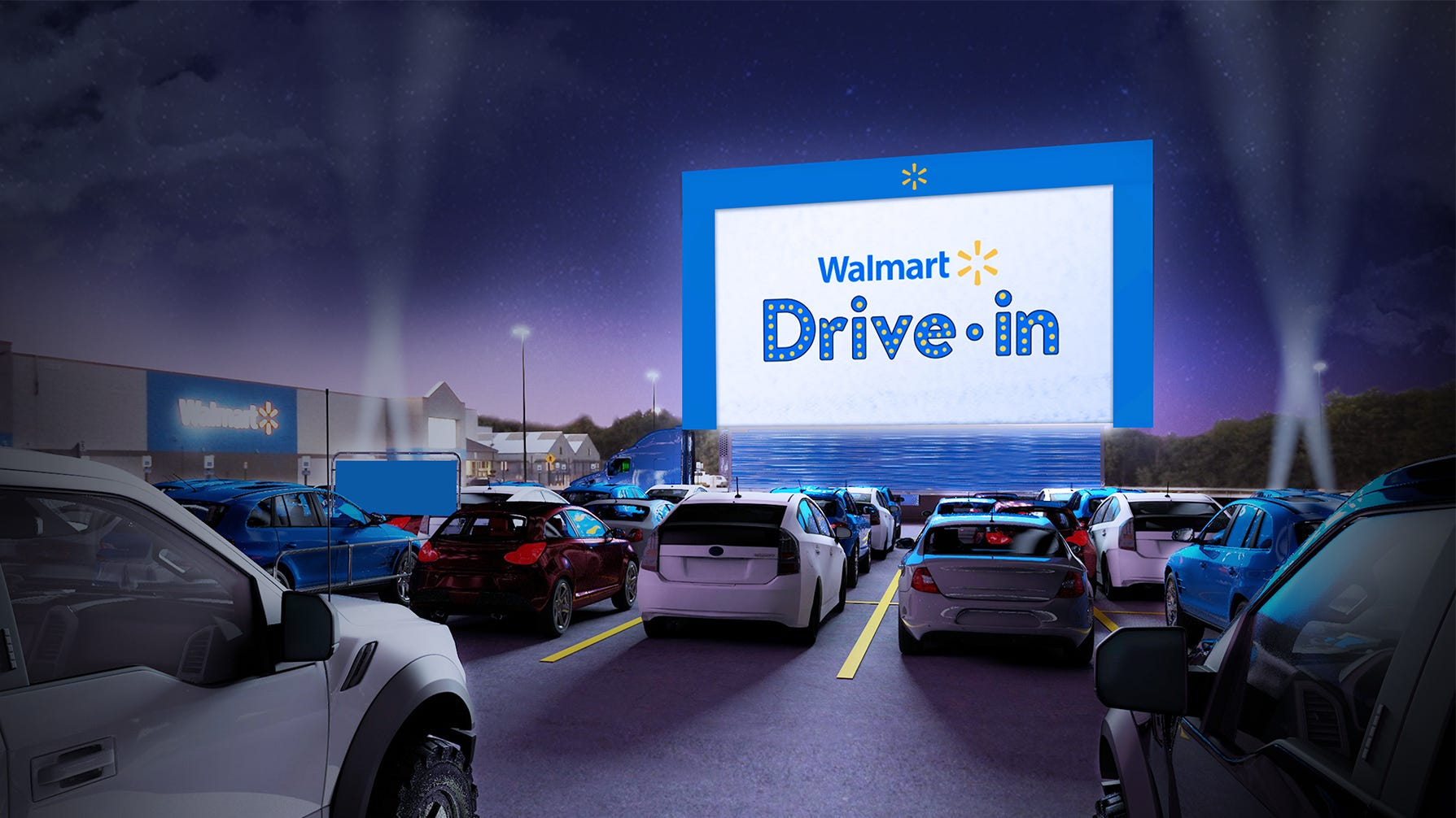 Walmart Will Turn 160 Parking Lots Into Drive In Movie Theaters
