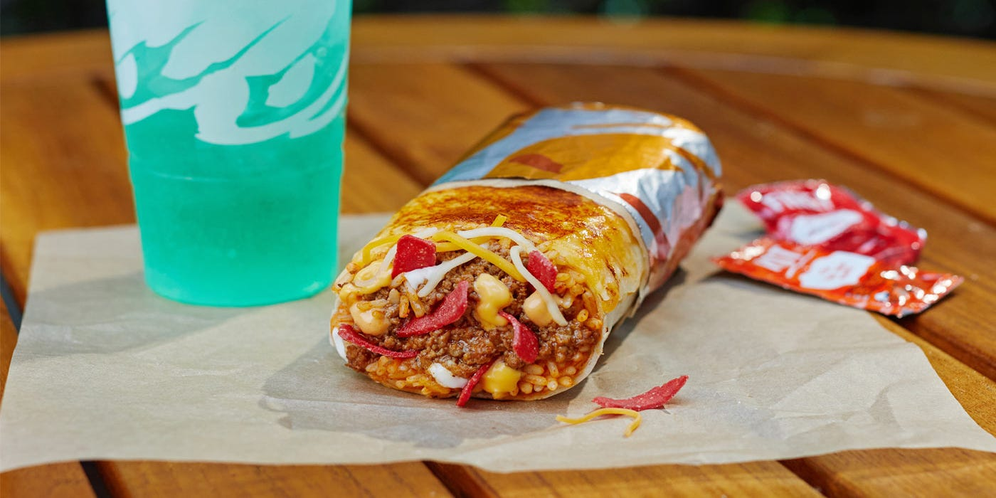 Grilled Cheese Burrito Taco Bell S New Menu Item Is Available Now