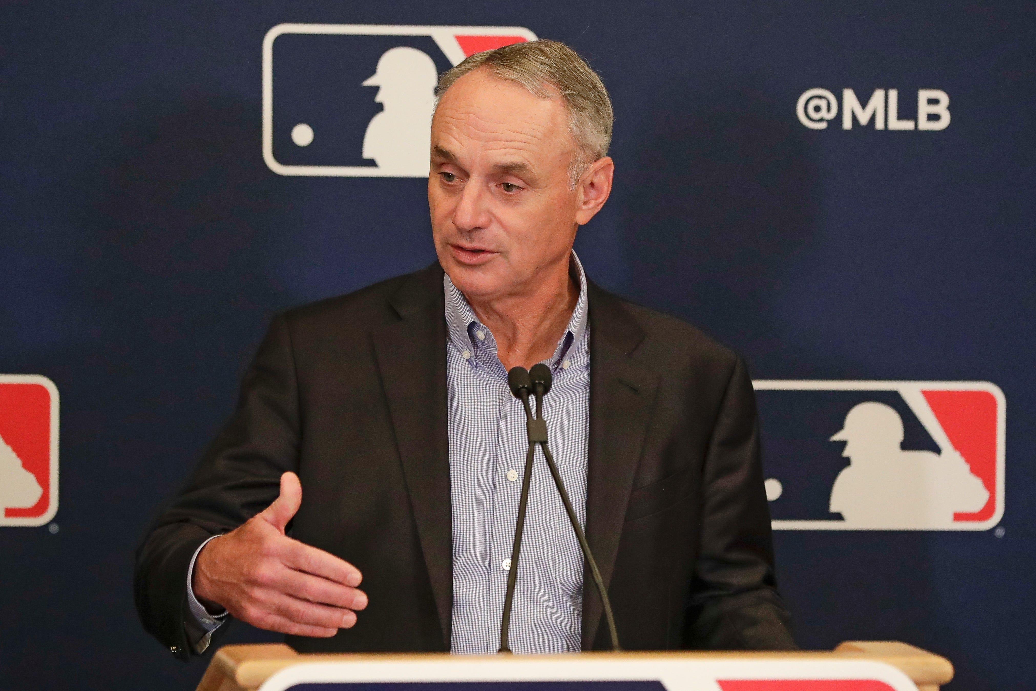 MLB commissioner Rob Manfred says Miami Marlins coronavirus situation no  nightmare