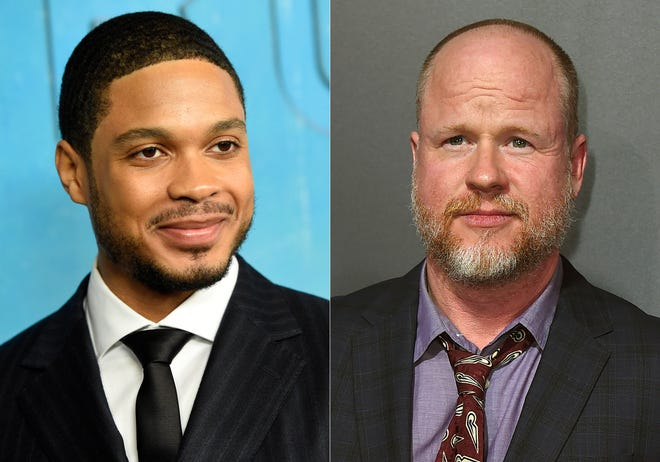 "Actor Ray Fisher, left, and Joss Whedon. Fisher, who played Cyborg in the DC Comics film, ""Justice League,"" tweeted in July that director Whedon's treatment of the cast and crew was ""unprofessional and completely unacceptable."""
