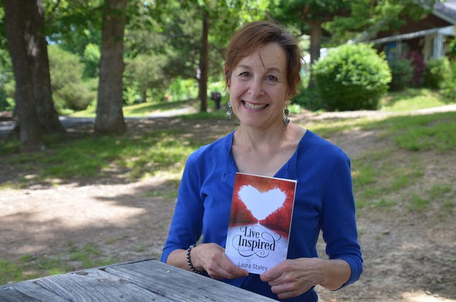 """""""Live Inspired"""" is Black Mountain author Laura Staley's latest book."""