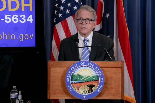 Ohio Gov. Mike DeWine announced he has tested positive for COVID-19 Thursday.