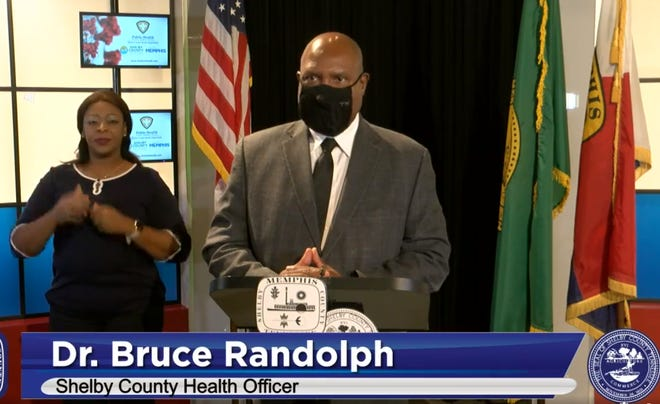 Dr. Bruce Randolph tells the public to wear masks. Shelby County is now mandating masks.