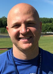 Wes Schroeder, 34, is Granville's new head football coach and is installing an up tempo, no huddle offense.