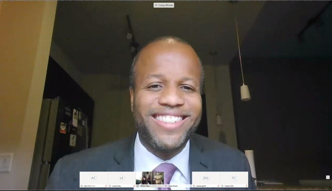 New Tempe Mayor Corey Woods was sworn in during a virtual ceremony on July 2, 2020.