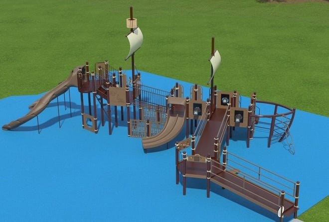 A new playground featuring a nautical ship theme is slated to be installed by August at Lincoln Park in Port Huron.
