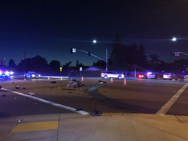 Visalia police investigated a deadly DUI collision on Thursday, July 2, 2020.